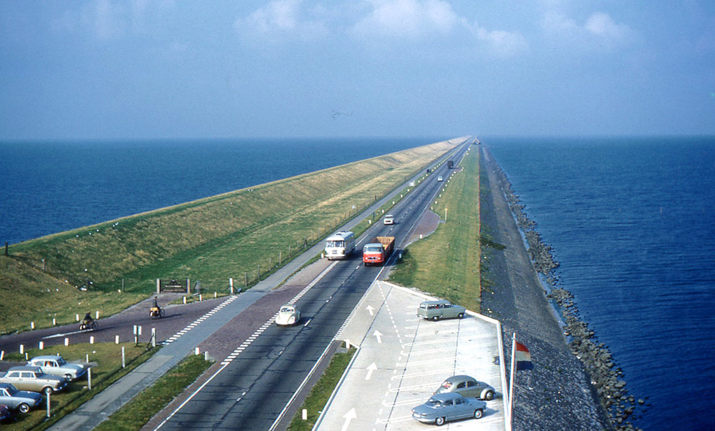 netherlands - enclosing dyke | i took this po from the mo… | flickr