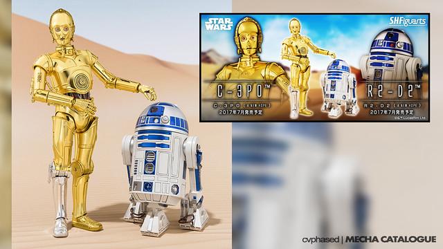 S.H.Figuarts R2-D2 & C-3PO [A New Hope]