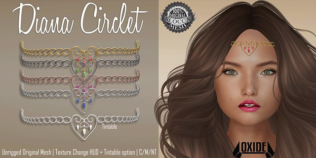 OXIDE Diana Circlet for XOXO Hunt
