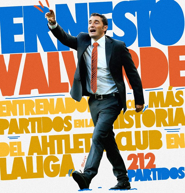Ernesto Valverde: Entrenador con mas partidos de la historia del Athletic Club de Bilbao