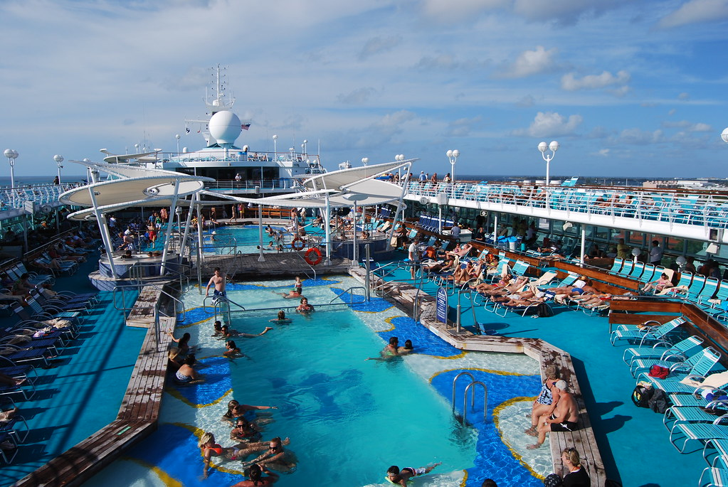 Cruise Ship Pool Penny Higgins Flickr