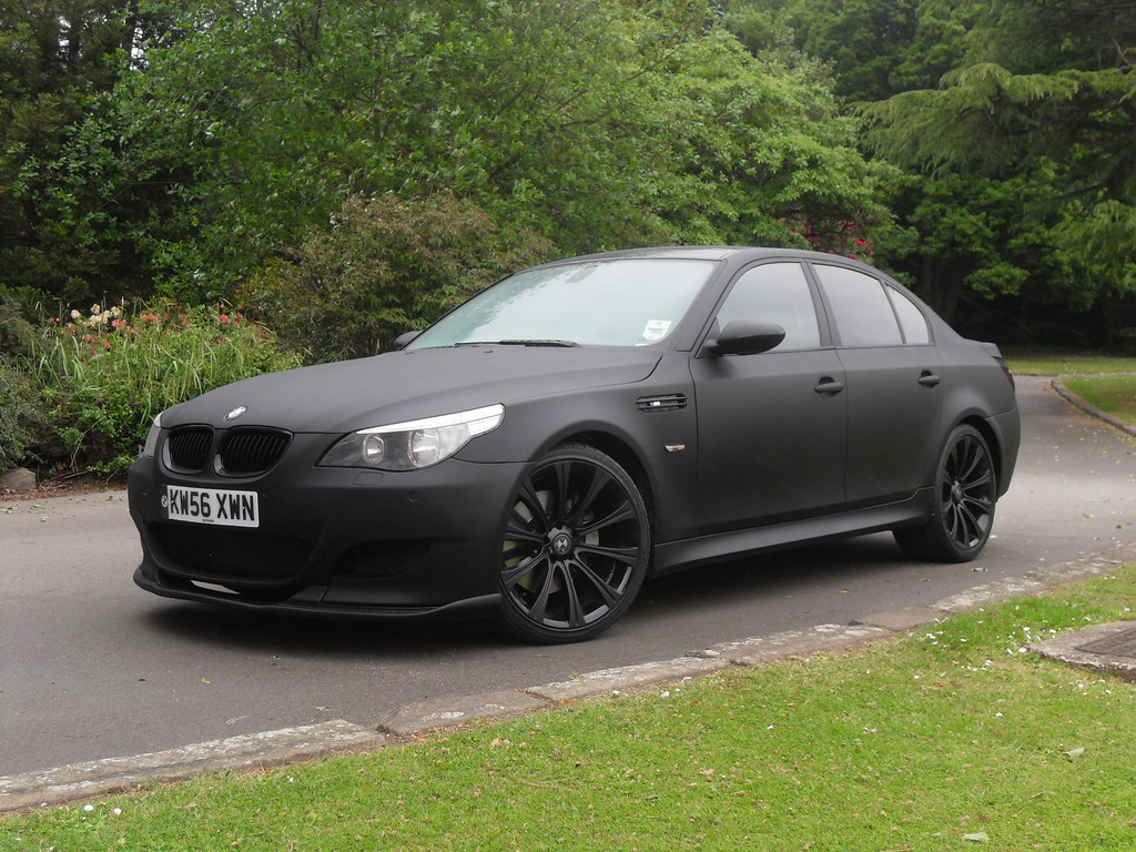 Bmw E60 535d M5 Replica Matte Black Www