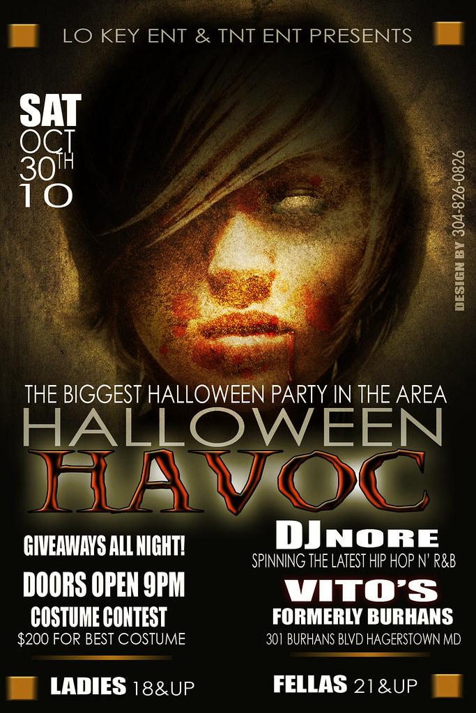 halloween club flyer halloween club flyer for vitos nigh flickr