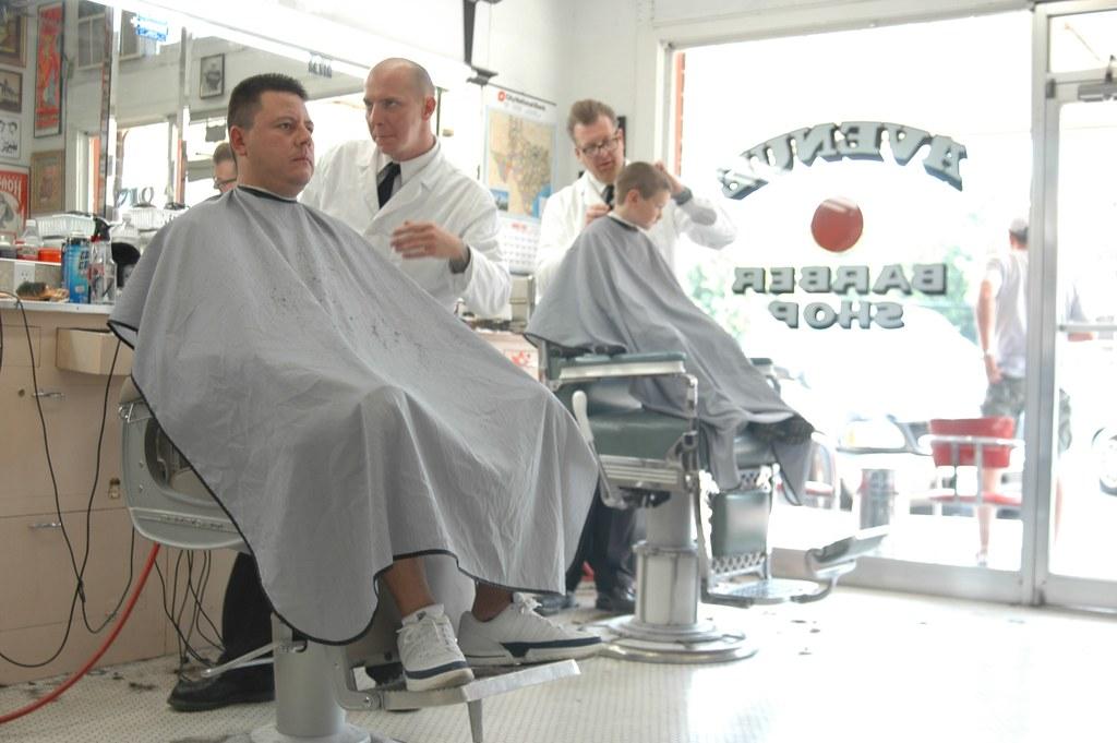 Avenue Barber Shop, Austin Texas. | Dixdelel | Flickr