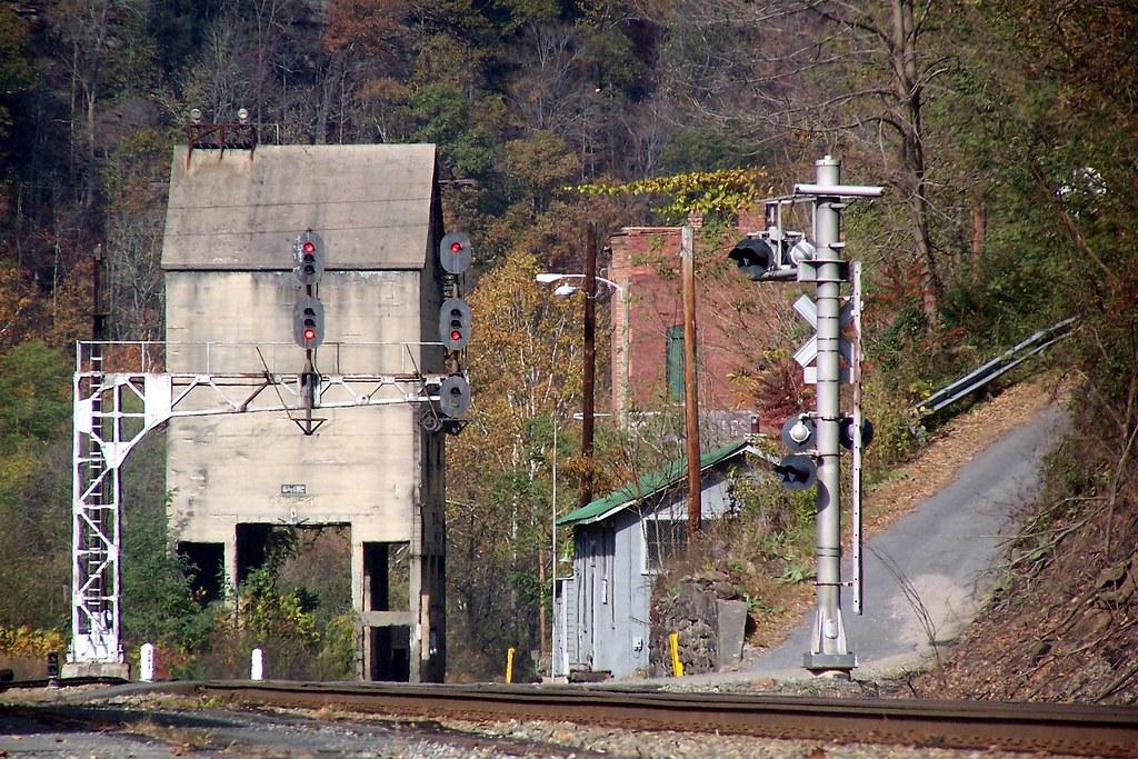 Coal Tower Thurmond Wv A Railfan Trip To Thurmond Wv
