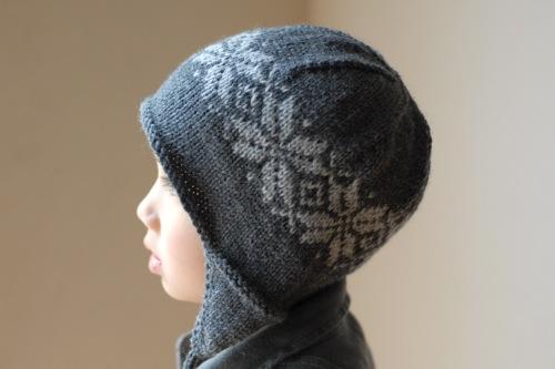 Bs Norwegian Star Earflap Hat Pattern My Own Yarn Casca Flickr