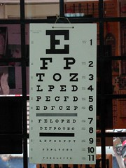 Eye Chart | by deqalb