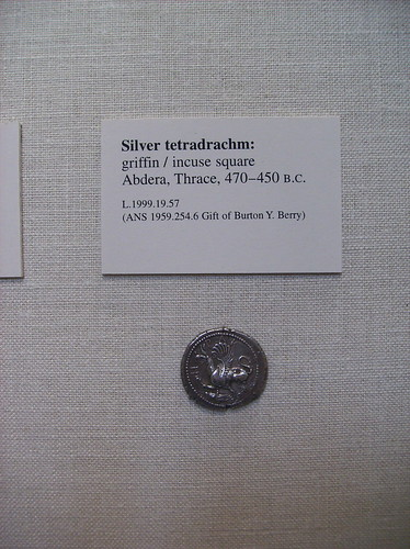 Silver Tetradrachm: Griffin | by peterjr1961