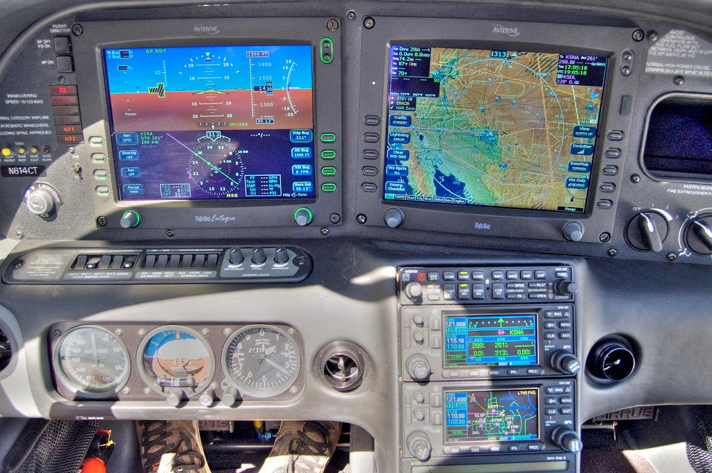 Avidyne Flightmax Entegra Cirrus Sr22 Gts I Received A