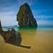 Hat Tham Phra Nang beach, Thailand