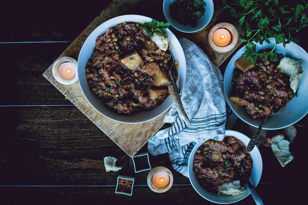 Slow Cooker Smoky Irish Lamb Stew
