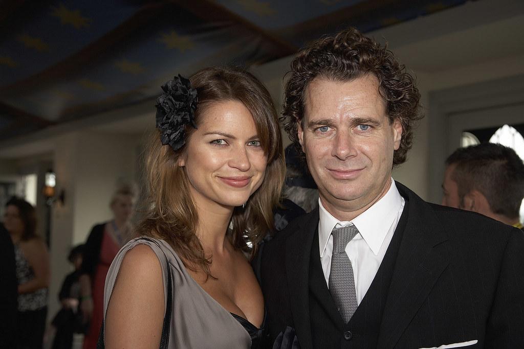 Gabriela Banova And Richard Hains Emirates Marquee Derby