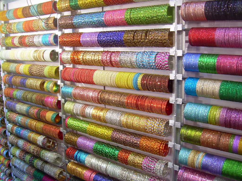 bangles large weddings the of in displays kolkata images image sarkar true bangle afp culture getty shop indian a variety dibyangshu article significance
