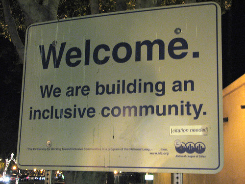Inclusive community [citation needed] | by mmechtley