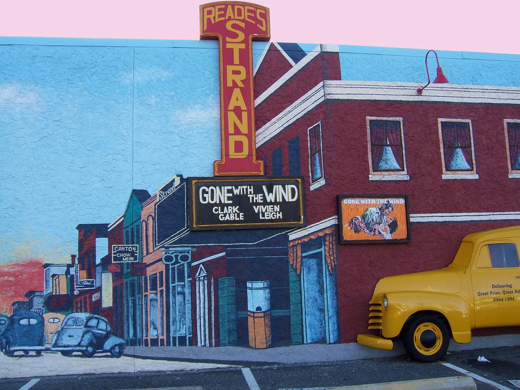 wall mural long branch nj street scene