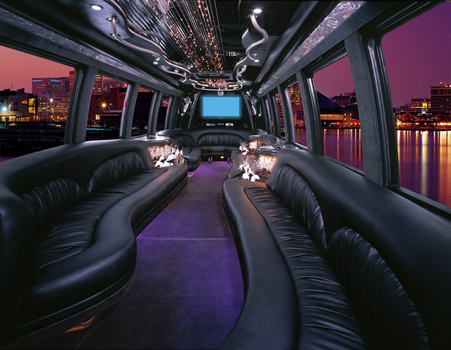 luxury coach limousine interior the incredible interior of flickr. Black Bedroom Furniture Sets. Home Design Ideas