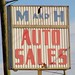 IN, Marion-IN 9 M&H Auto Sales Sign