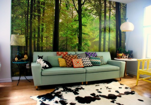 A forest in my living room! | by kimhaseightcats