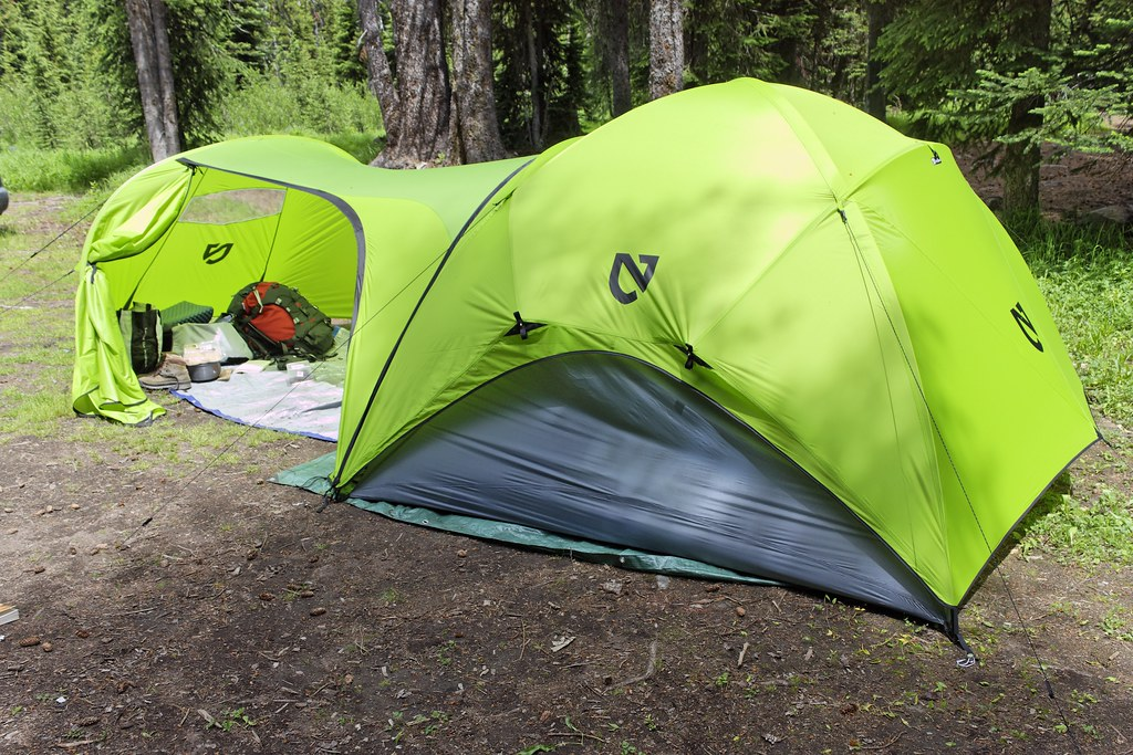 ... Nemo Asashi Four Person Tent | by CT Young & Nemo Asashi Four Person Tent | With the optional