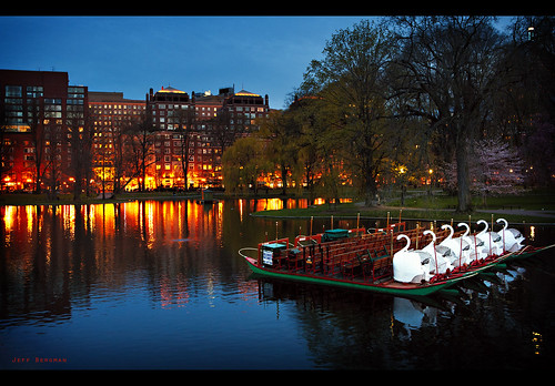 The Swan Boats at Boston Public Gaden | by Jeff_B.