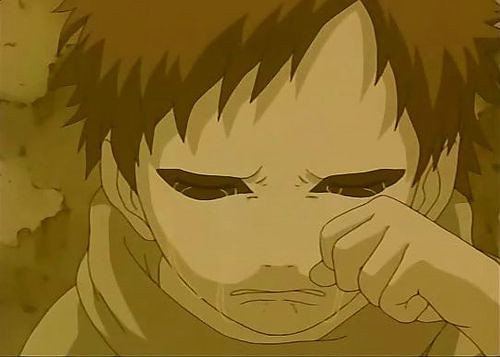 gaara crying | porr gaara no love him | {the name is rock ... Gaara Crying 548