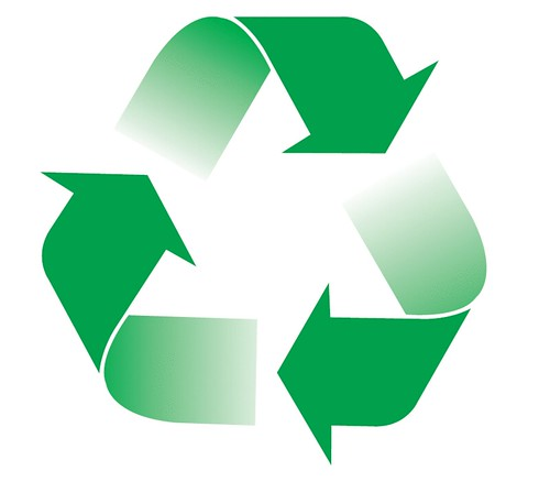 Reduce Reuse Recycle Green
