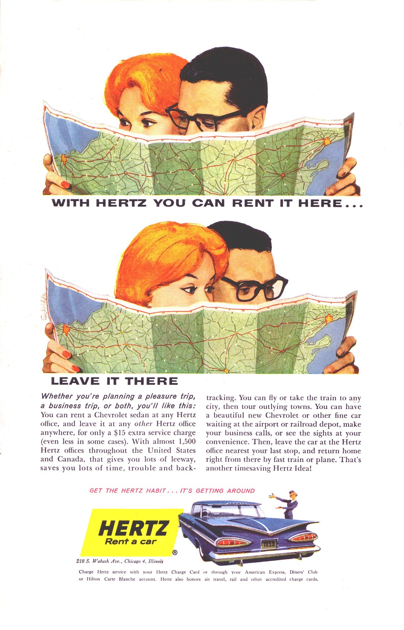 Hertz Rent a Car - 1959