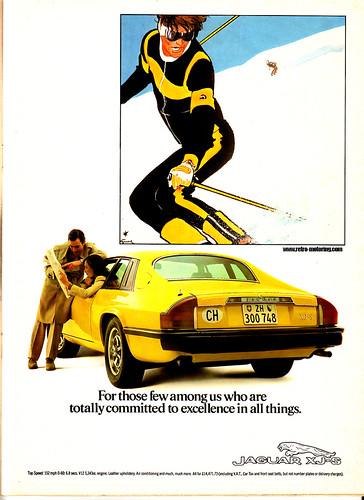 Jaguar XJS advert | >> Click for retro and classic car ...