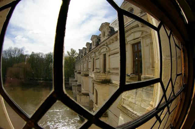 Le ch teau de chenonceau vu de l 39 interieur flickr for Chateau chenonceau interieur