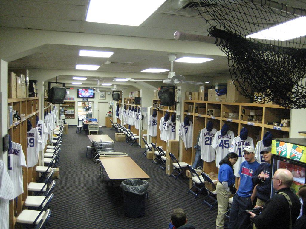 Cubs Locker Room