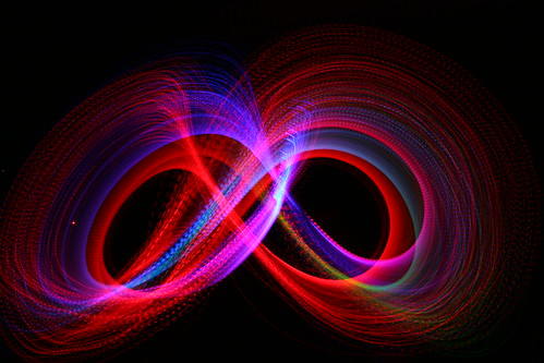 Long Exposure Fiber Optic Light Toy | by Bob Reck