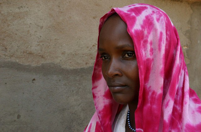 Peul woman in Northern Cameroon, Peul women are known for their beauty