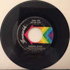BARBARA ACKLIN:LOVE MAKES A WOMAN(RECORD SIDE-B)