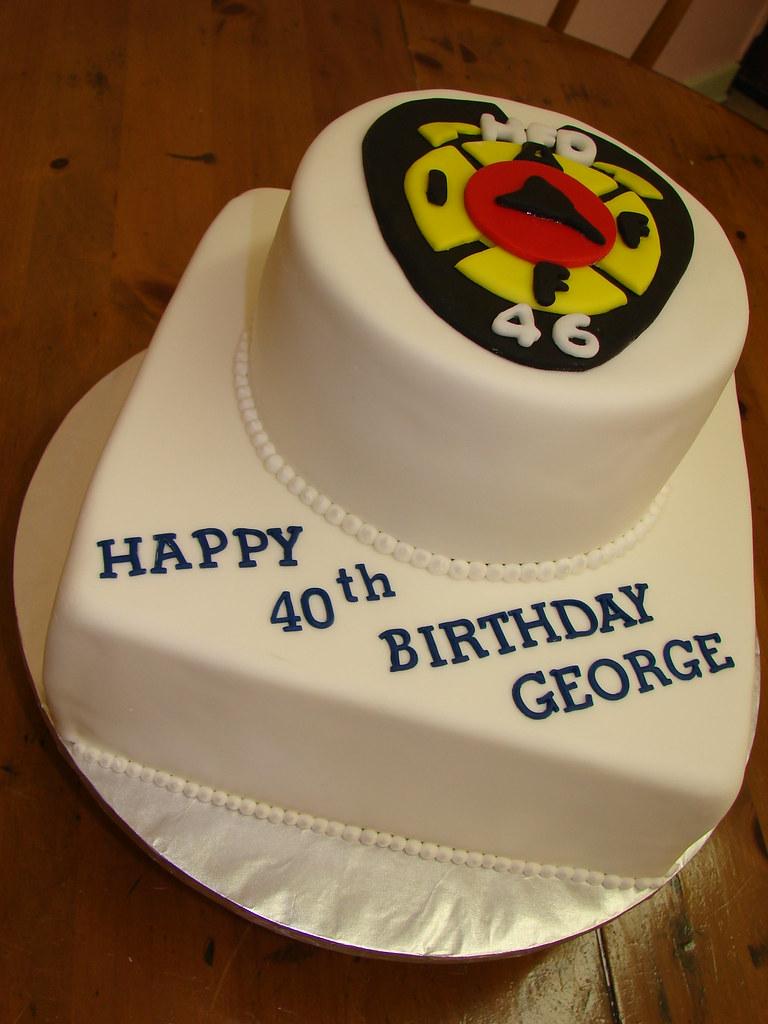 Hfd Fireman Birthday Cake Clarissa Lopez Flickr