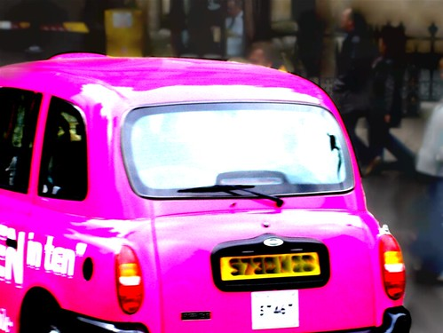 pink car | by Princesa Champiñona