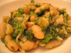 cannellini_beans and broccoli_rabe | by tofu666