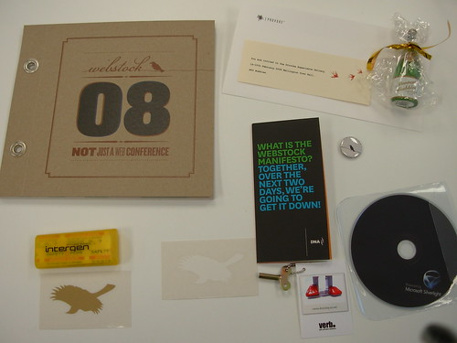 Webstock Swag | by wrumsby