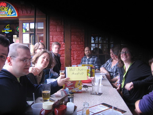 Metafilter Meetup in Austin | by Argyle/Cruftbox
