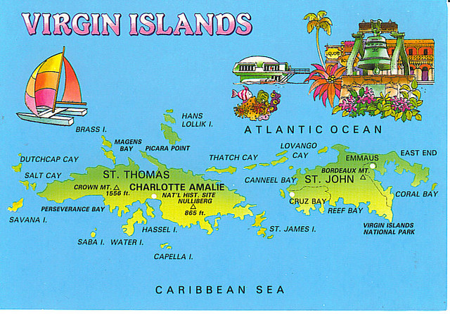 US Virgin Islands Map 2 Juliee3 Flickr