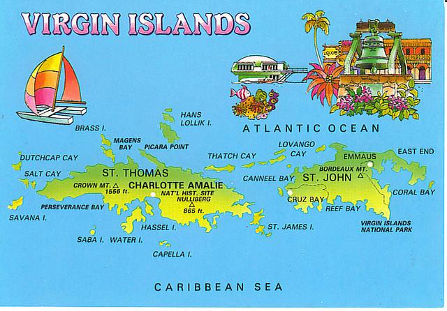 Maps Update 583646 Us Map Virgin Islands US Virgin Islands – Us Map with Virgin Islands