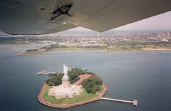 Statue of Liberty by plane | by eric.abouaf