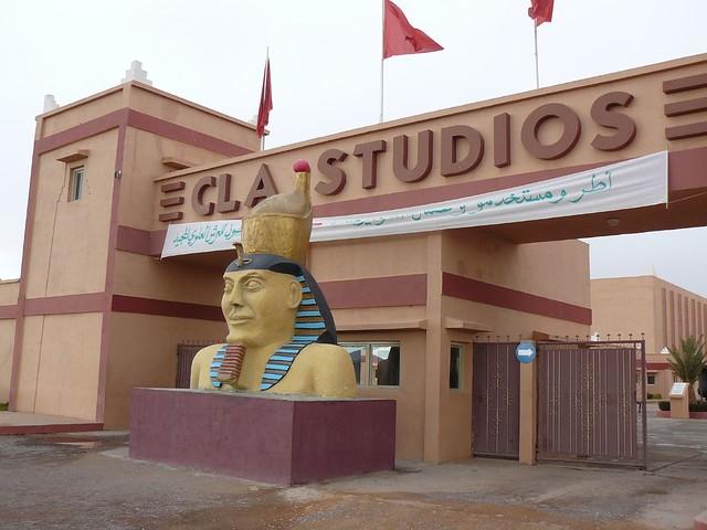 Estudios de cine de Ouarzazate (Marruecos)
