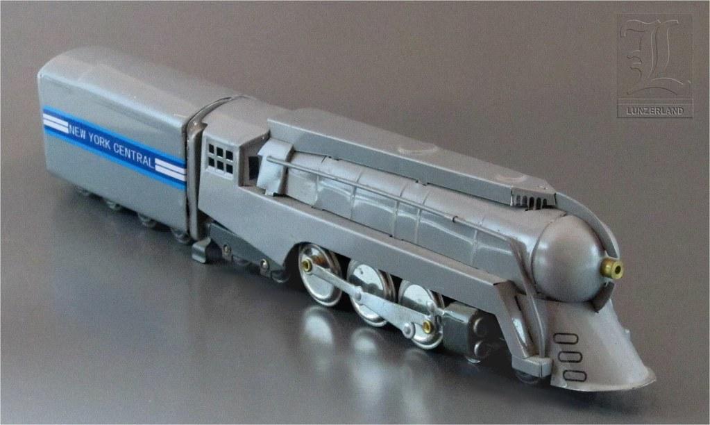 Henry Dreyfuss' STREAMLINER J-3a NEW YORK CENTRAL HUDSON 4 ... Henry Dreyfuss Train