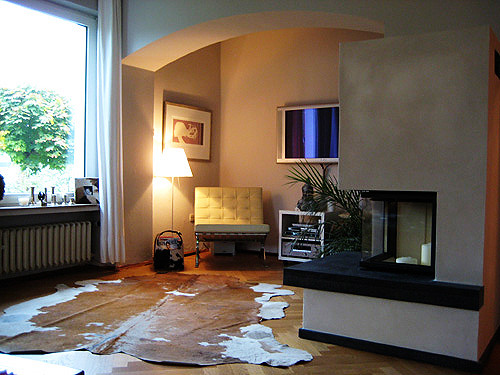 mein Wohnzimmer mit Kamin (neu und noch ungestrichen)  Flickr