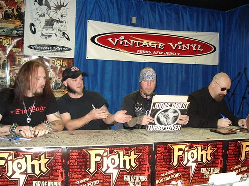Rob Halford Fight In Fords Nj Vintage Vinyl 5 Rob