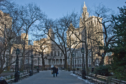 City Hall Park, Manhattan, New York, 14 Feb. 2008 | by PhillipC