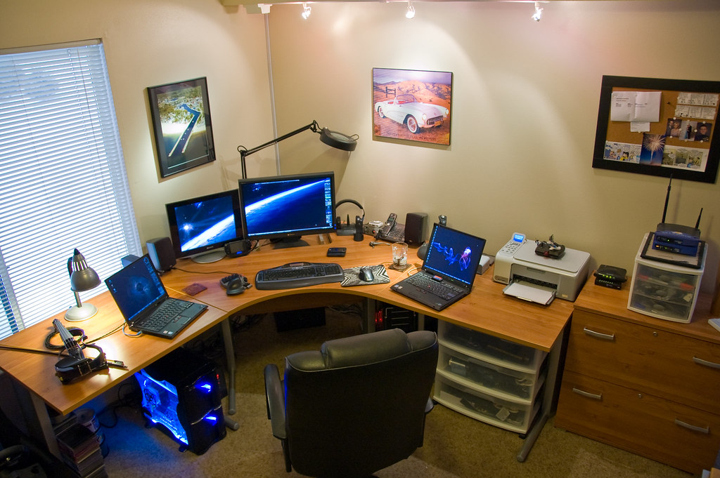 my home office. My Home Office | By Paladin27