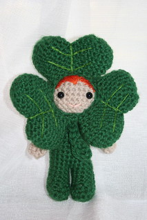 Dave the shamrock boy amigurumi | by *mia*