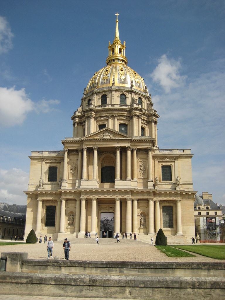 L 39 eglise du dome l 39 hotel des invalides paul trafford for Hotel des bains paris 14e