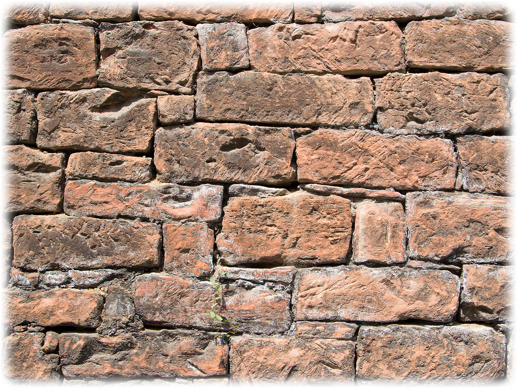 Red Brick Wall Wallpaper Vizzzualcom ViZZZualcom Flickr